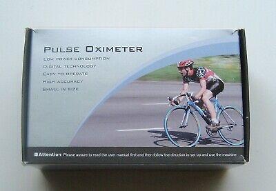 Fingertip Pulse Oximeter Spo2 Pulse Rate Blood Oxygen Meter Oled