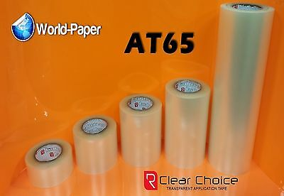 Application Transfer Tape Vinyl Signs R Tape Clear At65 1 Roll 6 X 15 Feet
