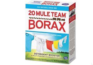 (3) 1 TEASPOONFUL baggies of 20 Mule BORAX powder for slime W/ instructions
