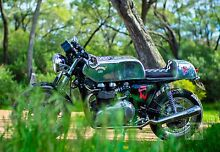 Stunning Custom Cafe Racer Triumph Thruxton Modern Classic West Perth Perth City Preview