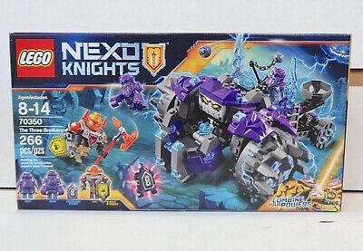 Nexo Knights: The Three Brothers Set #70350 (2017) LEGO New Sealed
