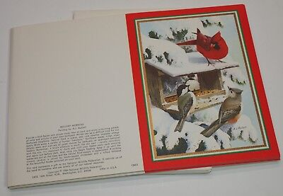 Vintage Lot of 16 Unsigned CARDINALS Christmas Greeting Cards w/ Envelopes
