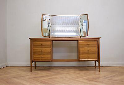 DELIVERY £60 Mid Century Teak & Walnut Dressing Table / Desk  from Vanson