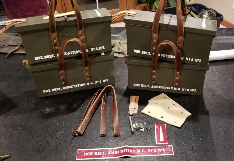 WW2 British Vickers Ammo Box Rebuild Kit