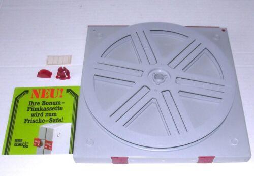 """Bonum 600"""" Super 8 & 8mm Movie Reel 180 m 600 Feet  Automatic in Case NEW"""