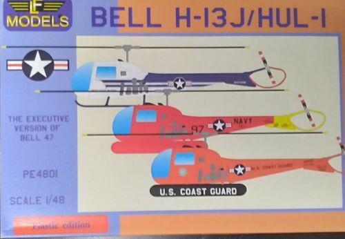 Bell H-13J/ HUL-1, 1/48 , USAF, US Navy, USCG, LF Models, PE4801, New
