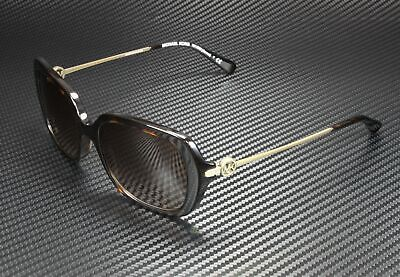 MICHAEL KORS MK2065 300613 Carmel Dark Tort Smoke Grad 54 mm Women's Sunglasses