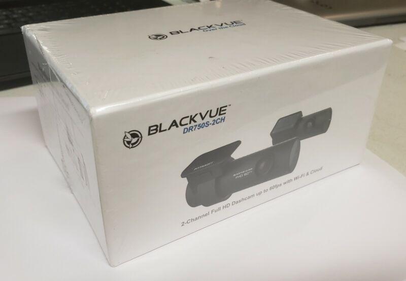 Dash Camera BlackVue DR750S-2CH with 32GB microSD Card | Full HD, RB