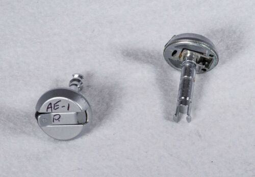 OEM Canon AE-1 Program Film Rewind Knob and Post Assembly