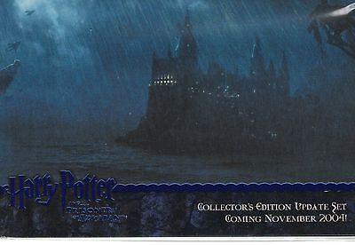 Harry Potter Prisoner of Azkaban Update 4 Card Blue Foil Promo Set