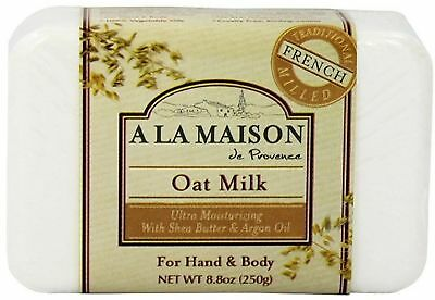 - A LA MAISON Solid Bar Soap, Oat Milk 8.8 oz (Pack of 6)