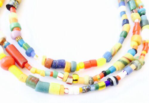 Fine Ghana Christmas African seed Beads Glass African Trade Beads