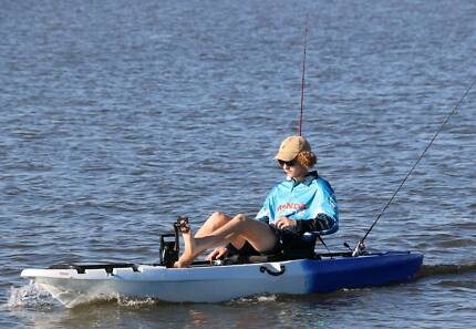 New 10 foot Tarpon fishing kayaks with pedals.
