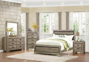 SUMMER SALE!!!! Beechnut King Bed Frame In Brown( Suite Available )