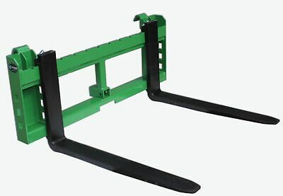 42 Pallet Fork Attachment 2 Trailer Receiver Hitch Fits John Deere Loader