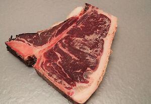 T-Bone-Steak, Porterhouse-Steak, Rindersteak Dry Aged 600g Cut
