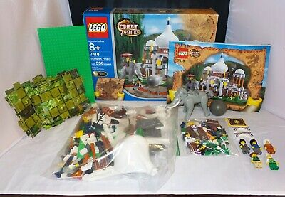 Lego Orient Expedition 7418 - Scorpion Palace - COMPLETE w/ Box