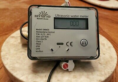 Ultrasonic Water Meter 12 With Modbus