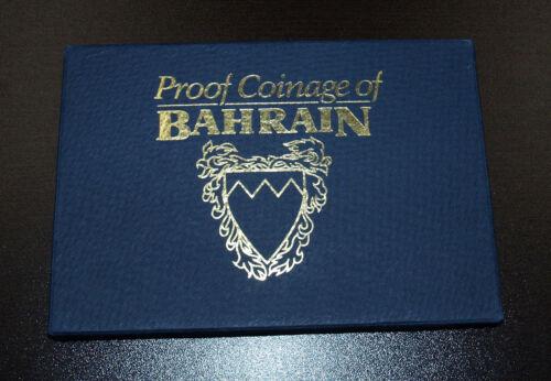 Bahrain 8 Coins 1965-1969 Proof Set!