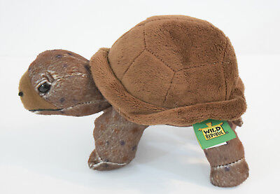 "8"" Wild Republic Turtle Tortoise Plush Realistic Brown Stuffed Animal Toy - Stuffed Animal Turtle"