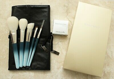 HAKUHODO REIWA CELEBRATION SKY BLUE BRUSH SET, Limited Ed., New In Box, Japan