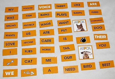 Bullitin Board Wall of Magnet Words for Sign - Lot of 40 - Bullitin Board