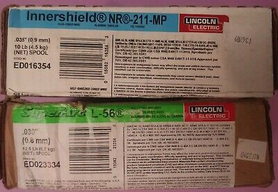 2 Pc Lincoln Electric Welding Wire Ed023334 Ed016354