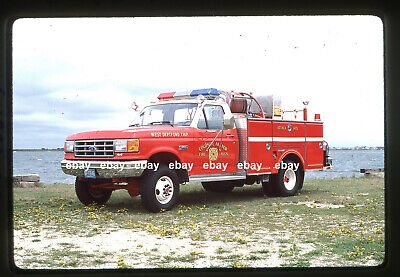 Colonial Manor FC NJ West Deptford Twp 1987 Ford F Grumman Fire Apparatus (Deptford Nj)