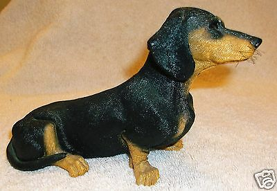 WHISKERS BY MARTHA CAREY DACHSHUND DOG FIGURINE RETIRED ©1987 WILLISTON, VT USA