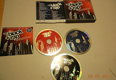 3 CD Best of Black & Rap 45.Tracks 2006 Eminem Coolio Snoop Doggy Dogg 3T