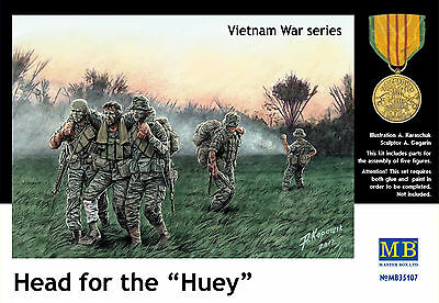 MASTER BOX™ 3599 US Patrol in Vietnam in 1:35