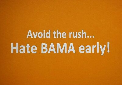 UT Vols Tennessee Avoid The Rush Hate Bama Early Adult XL Tee Free Ship 2/$14