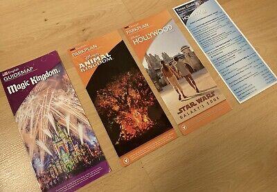 Disneyworld Orlando Parkplan