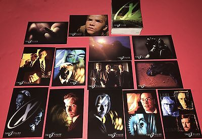 X-Files Flight To The Future (1st Movie)  Trading Card Set #1-72 (1998 Topps) X-files Trading Card