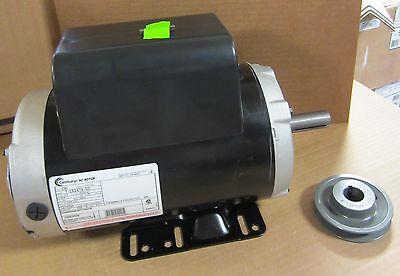 Campbell Hausfeld Air Compressor Electric Motor 5hp 230v Mc035799sj Tq312600aj