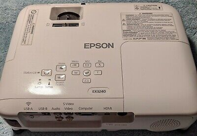 Epson - EX3240 SVGA LCD Projector - White - *Remote Control Not Included*
