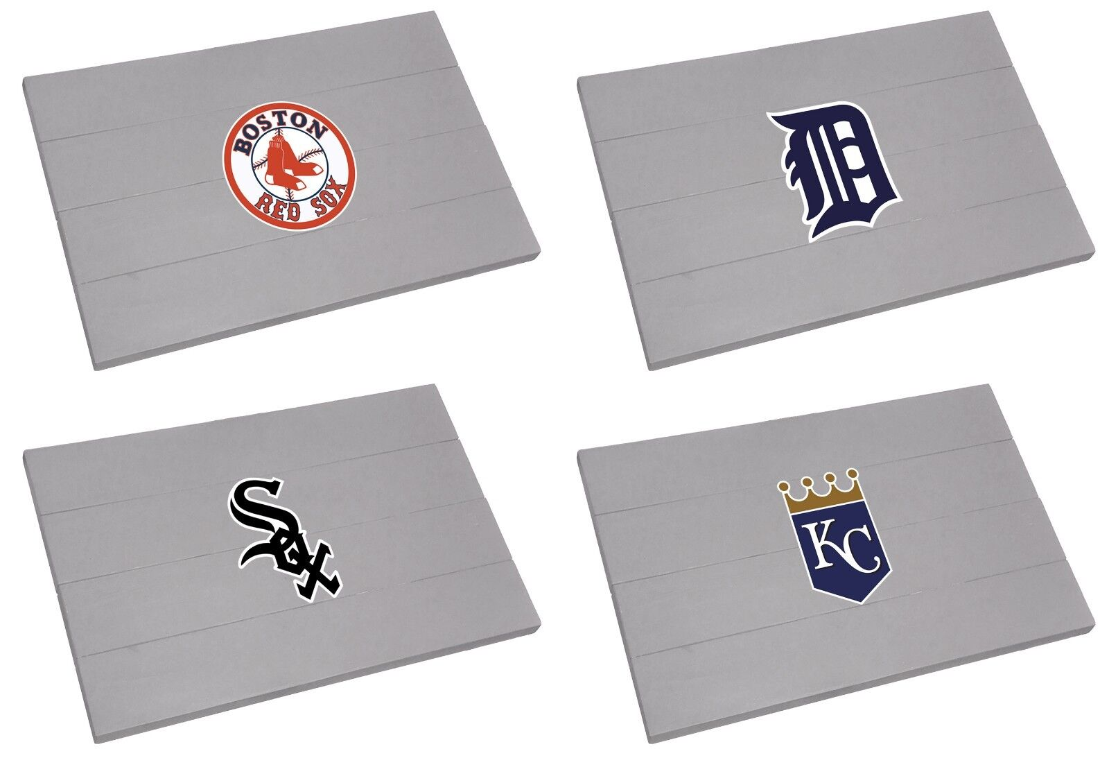 mlb door patio garage mat wood grey