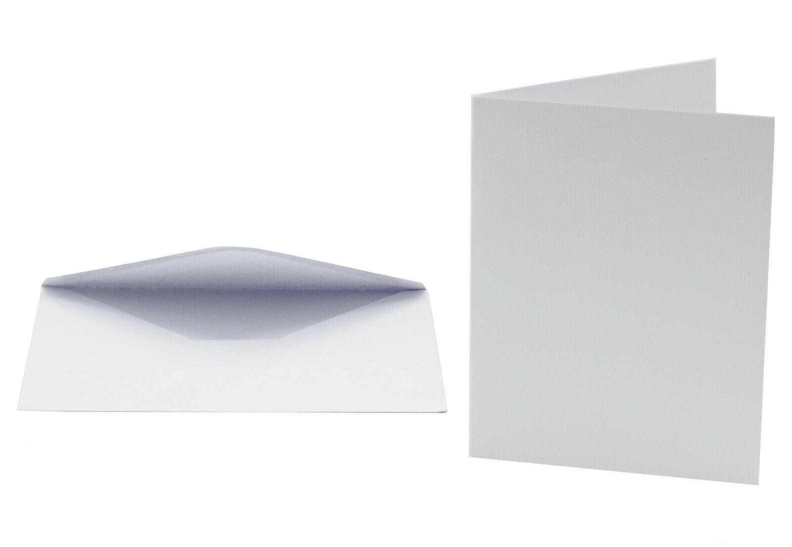 A2 Blank White Cards with Envelopes, Perfect for Invitations, Holidays – 50 Pack Crafts