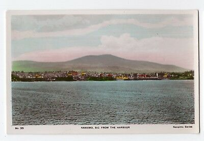 View from Harbour NANAIMO B.C. Canada Spalding Real Photo Postcard 35 for sale  Saint-Andre-d'Argenteuil