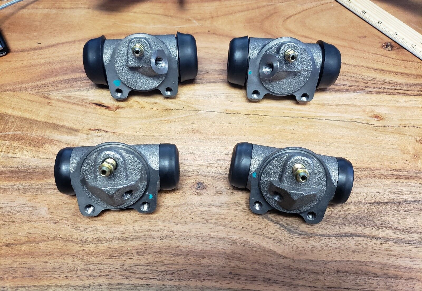 1948 PLYMOUTH BRAND NEW COMPLETE WHEEL CYLINDERS CYLINDER NEWLY PRODUCED MoPar
