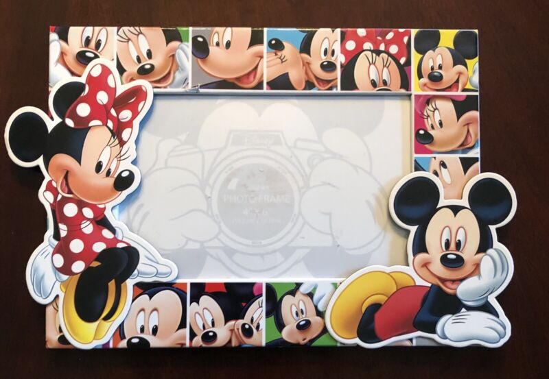 Disney Picture Frame 4x6 New Mickey Minnie Collectible Display