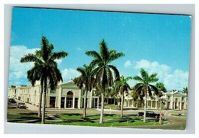 Royal Poinciana Shopping Plaza Mall, Palm Beach FL c1960 Postcard (Palm Beach Shopping Mall)