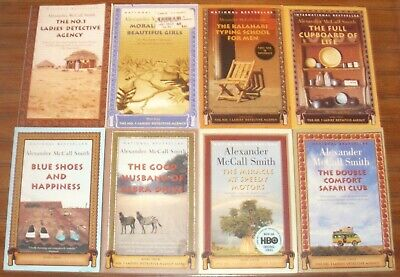ALEXANDER McCALL SMITH lot of 8 TSPBs: The No. 1 Ladies Detective Agency Series