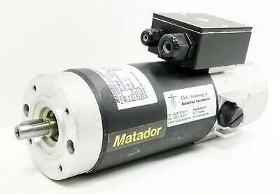 Matador TYPE DCM3B 35/06 A2 DC Servomotor -used- (Dc-servo-motor)