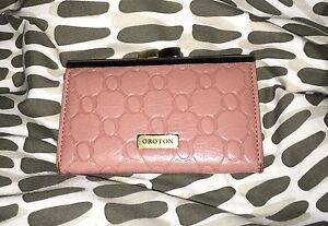 Oroton Leather coin purse - pale pink Bedford Bayswater Area Preview