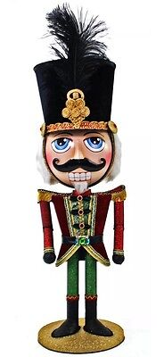 """Katherine's Collection 25"""" Nutcracker  Christmas Candy Container Display"""