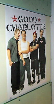 GOOD CHARLOTTE Vintage Poster 2001 in NEW CONDITION LAST ONE