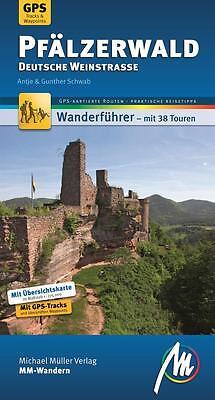 PFÄLZERWALD Wandern Michael Müller 12 Wanderführer Reiseführer Pfalz NEU