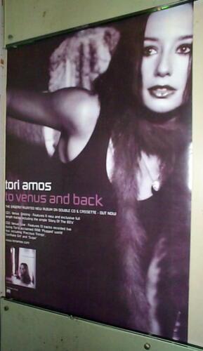 TORI AMOS To Venus & Back Vintage Promo Poster