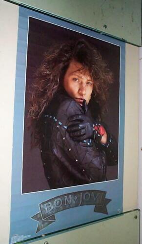 JON BON JOVI 2 Vintage 80s Solo Posters